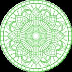 mandala-icone-verde
